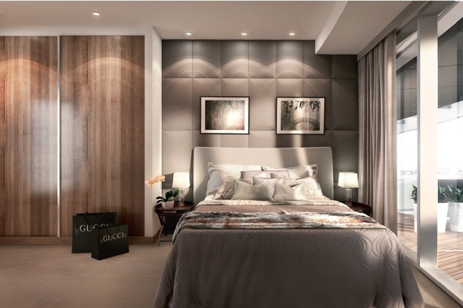 Rabih Hage,Master Bedroom