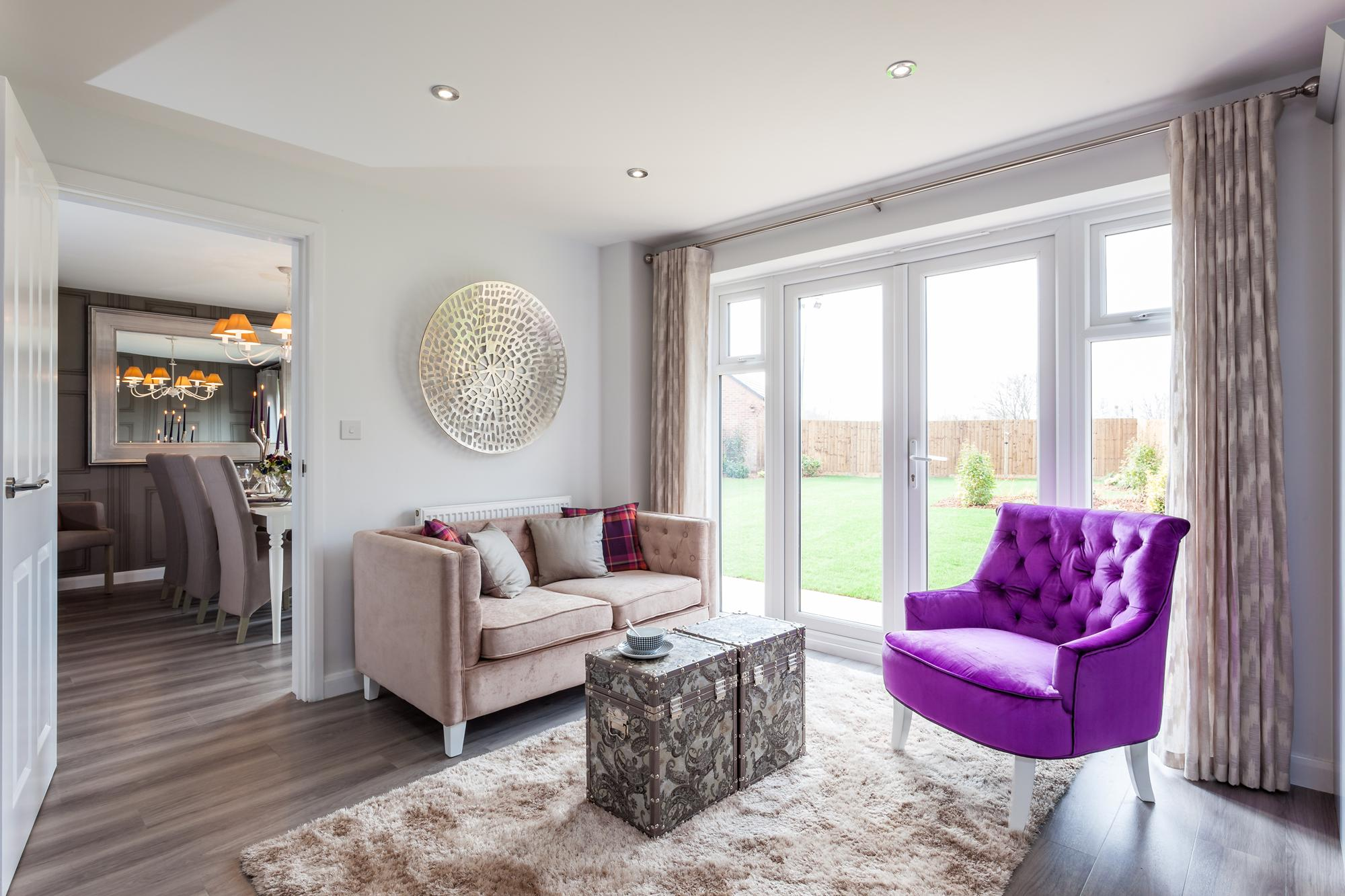David Wilson Homes,Family room