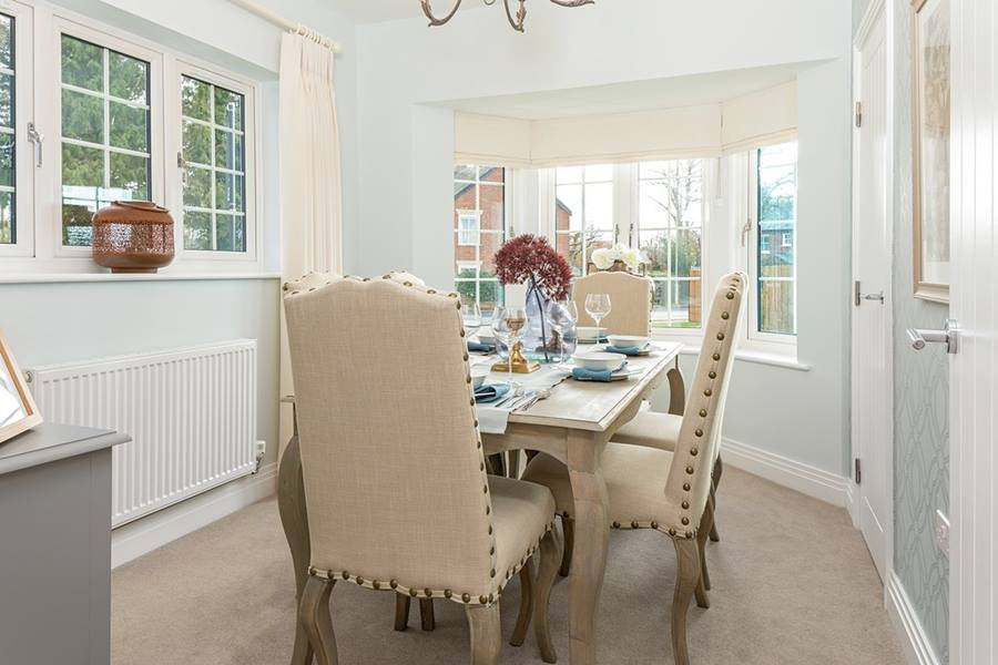 Cala Homes,Dining room