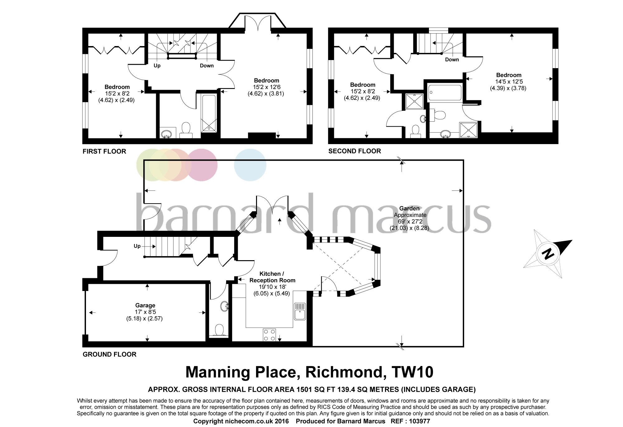 Manning place richmond tw10 3 bedroom property to rent for 101 richmond floor plans