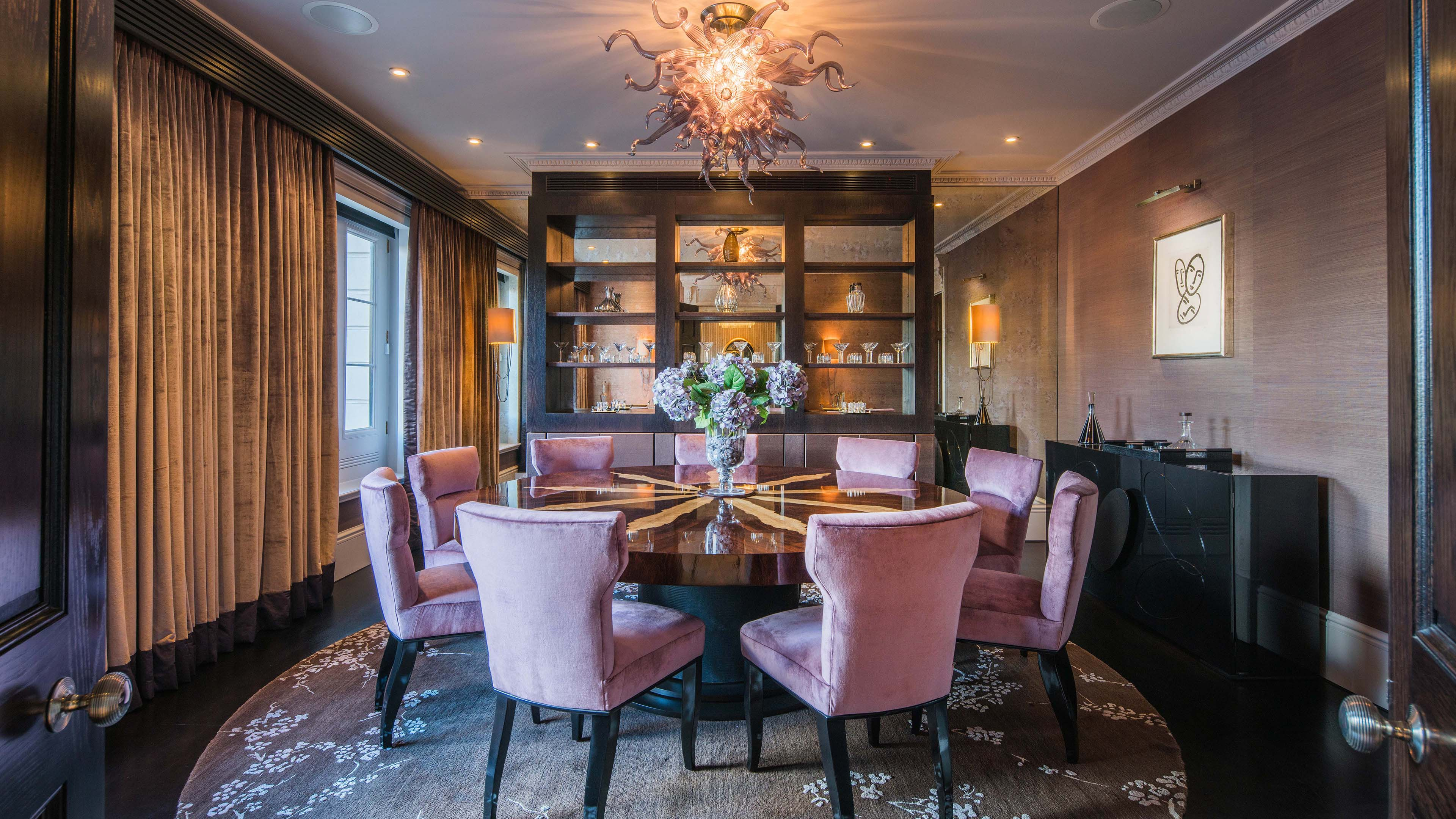 The Crown Estate,Dining room