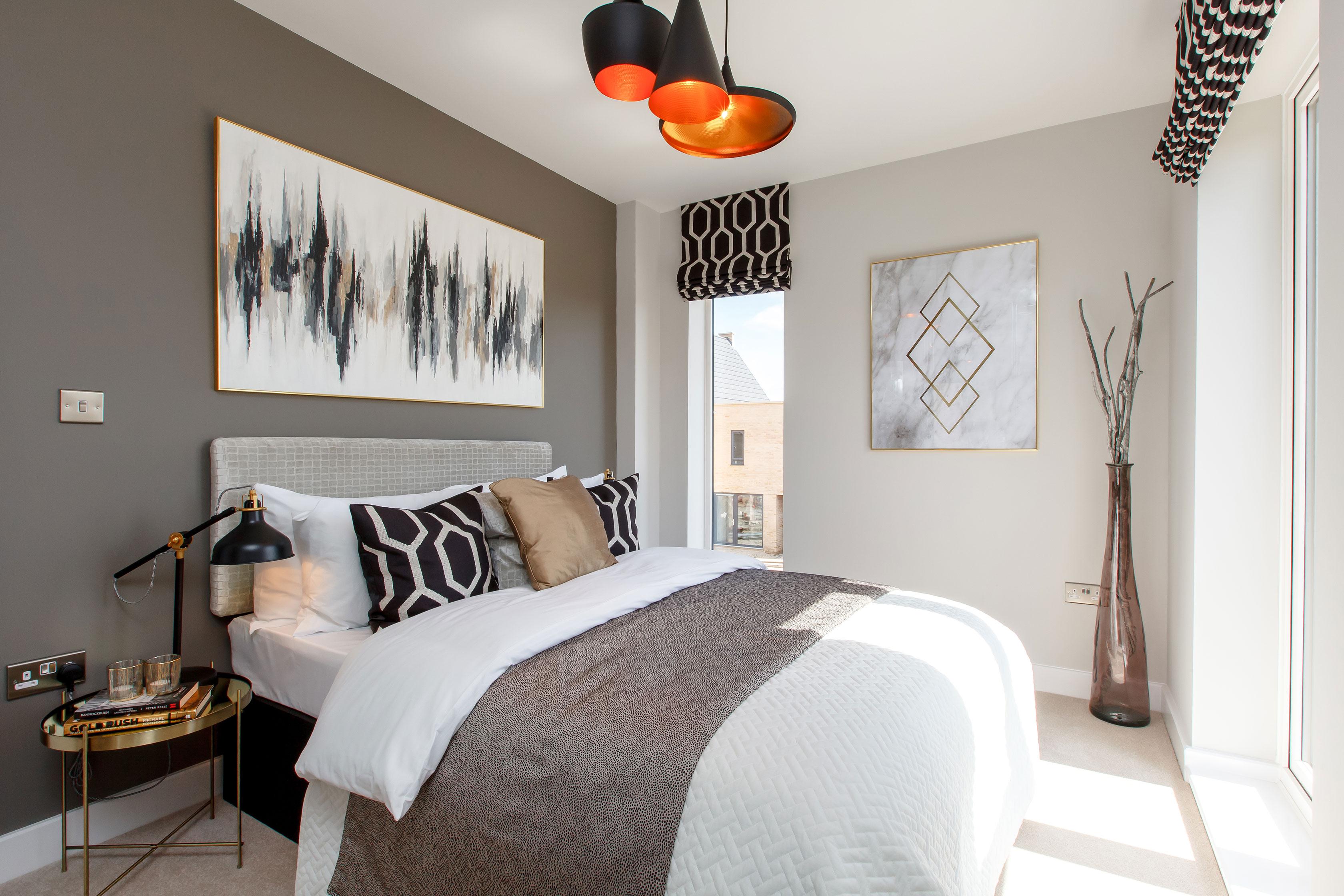 Bloor Homes,Master Bedroom