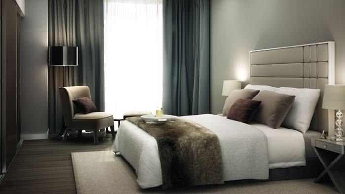 Royal Mint Gardens,Master Bedroom