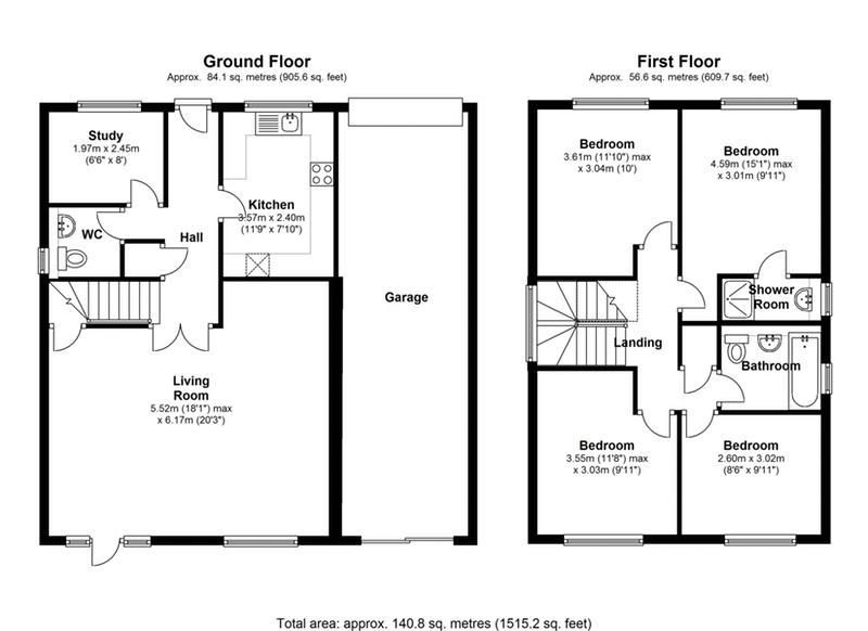 Lake Avenue Bromley Kent BR1 4 Bedroom Detached House