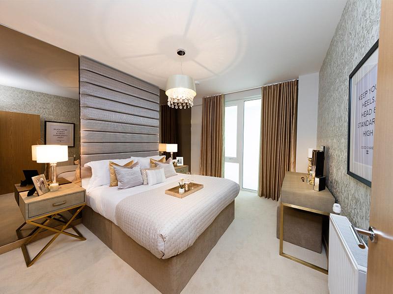 Weston Homes,Master Bedroom