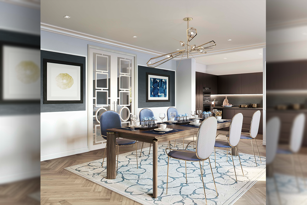 Hampstead Manor development,Dining room