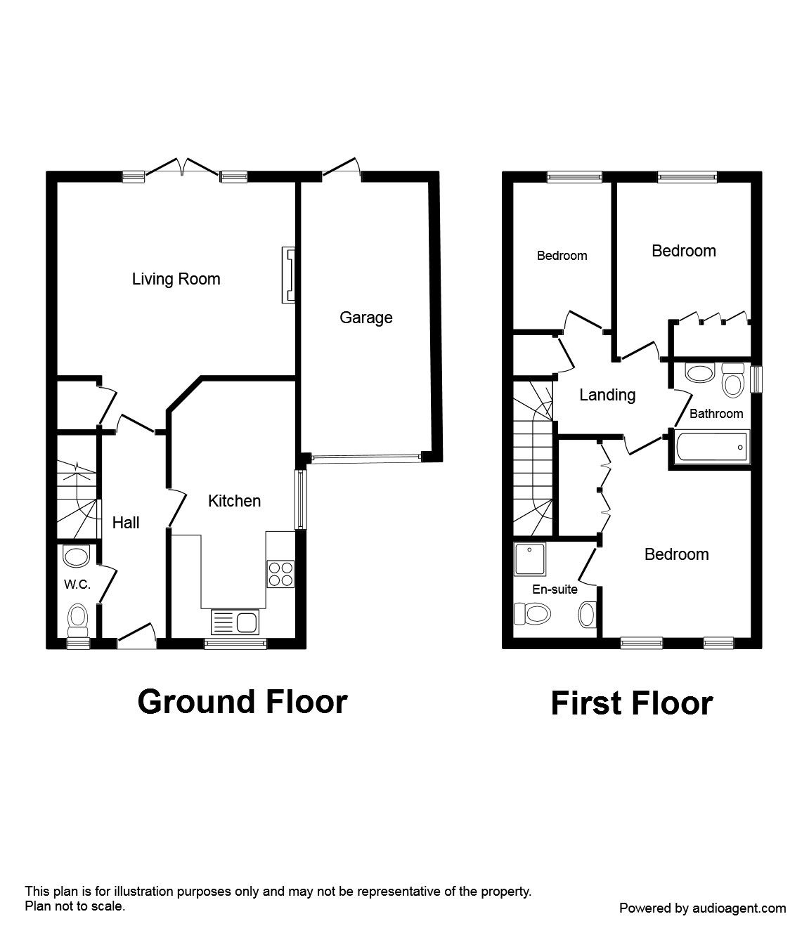 Property For Sale In Watson Way Crowborough