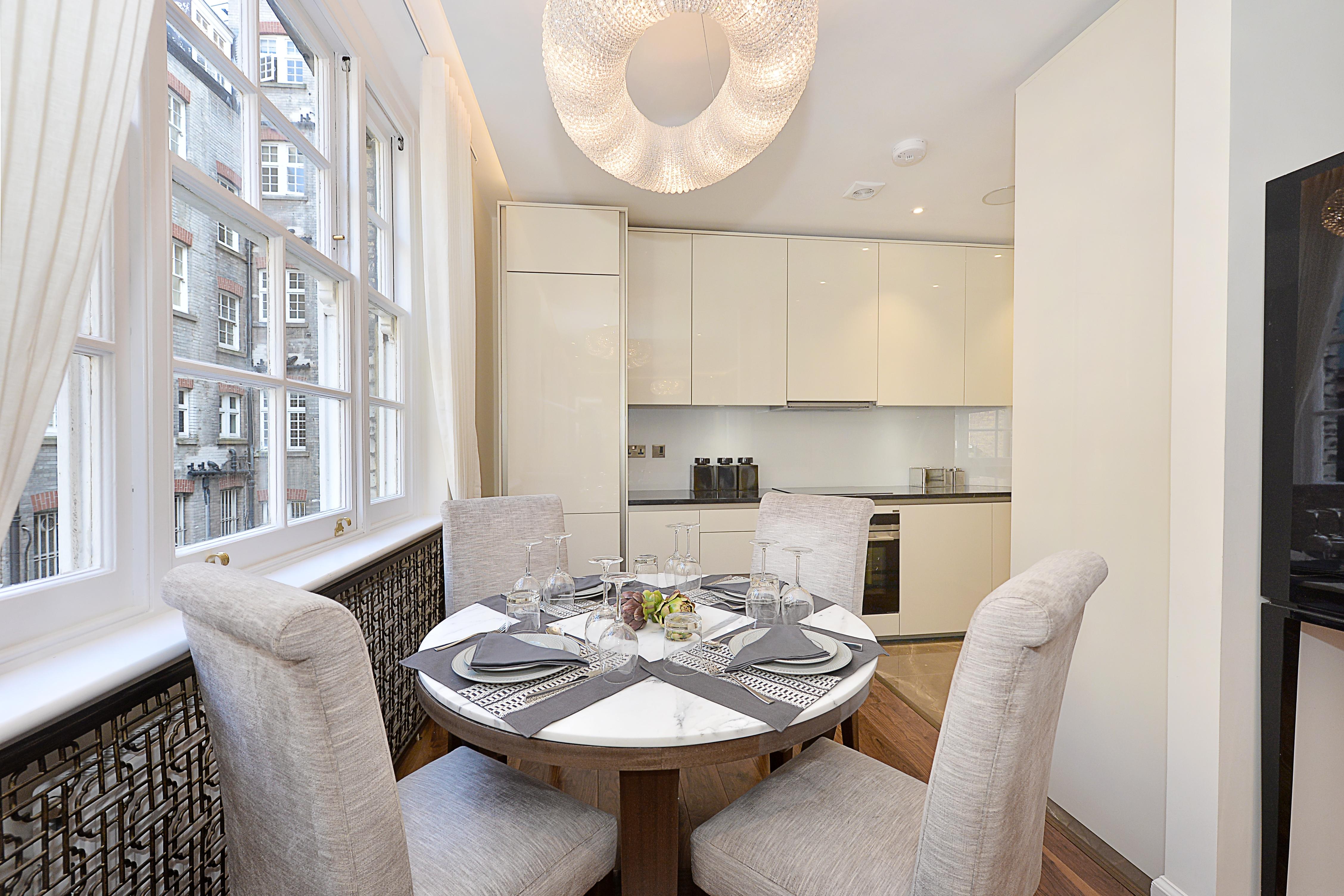 Montagu Mansions,Breakfast rooms