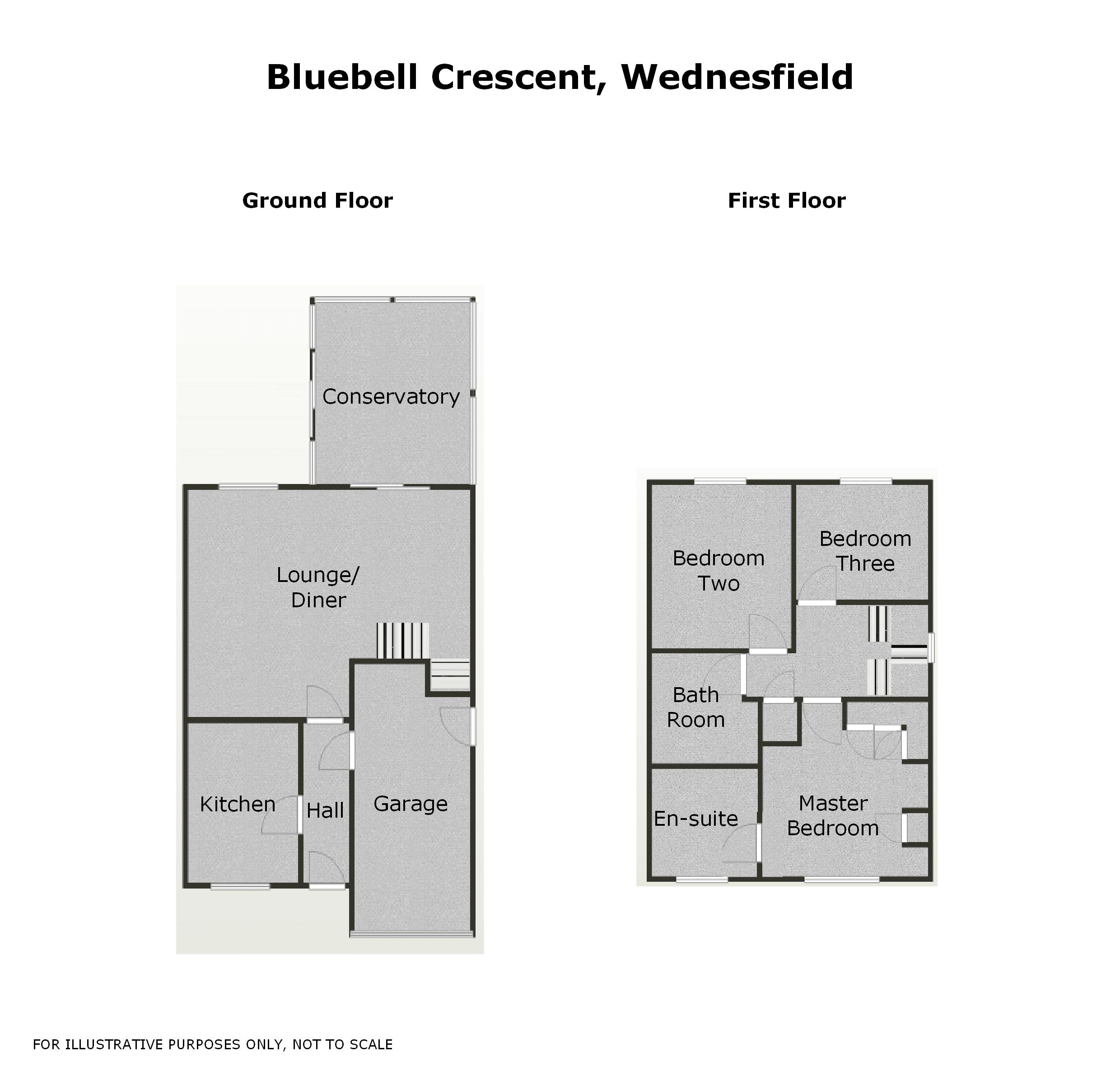 Property For Sale In Wednesfield Bluebell Crescent