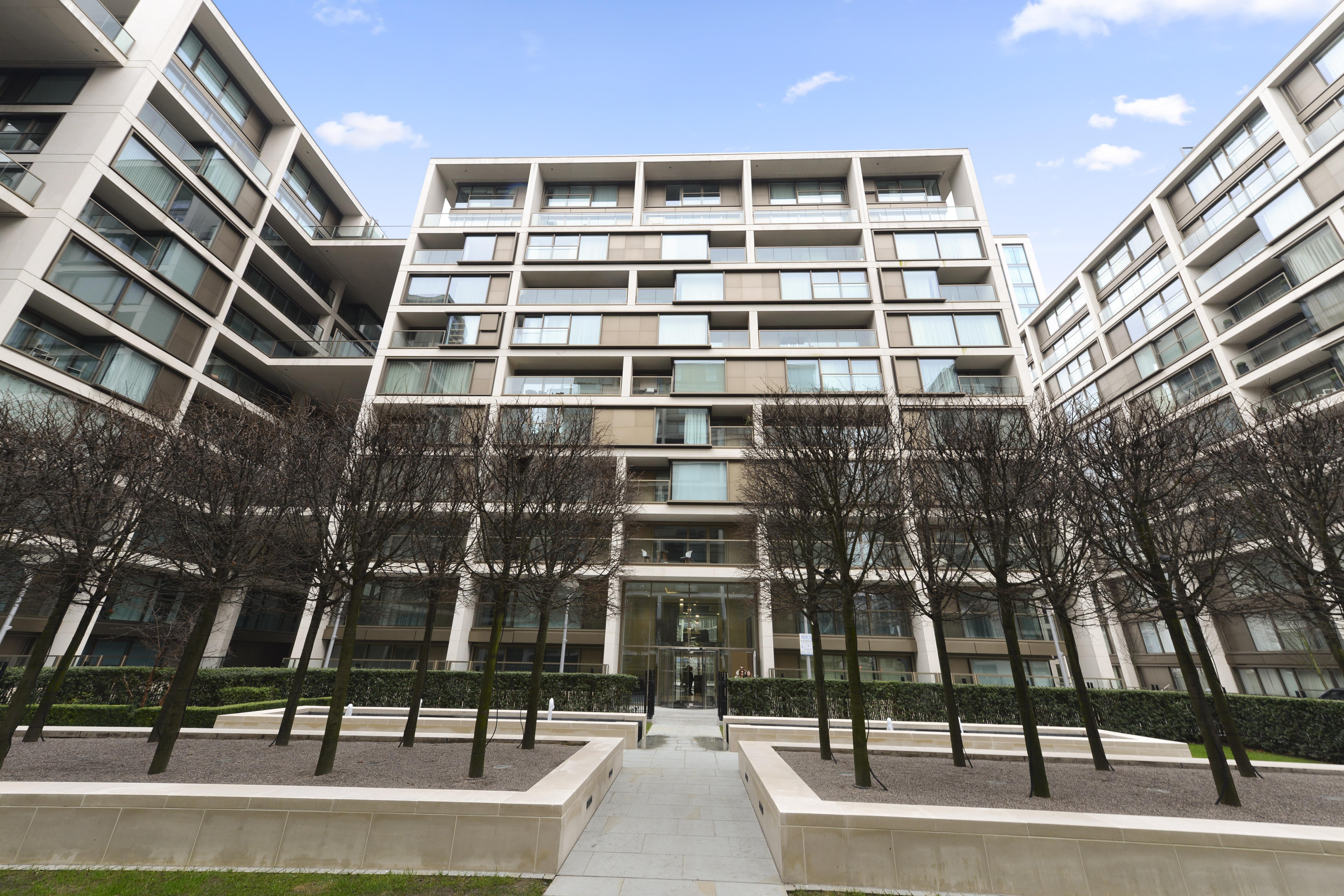 375 Kensington High Street,Front Elevation