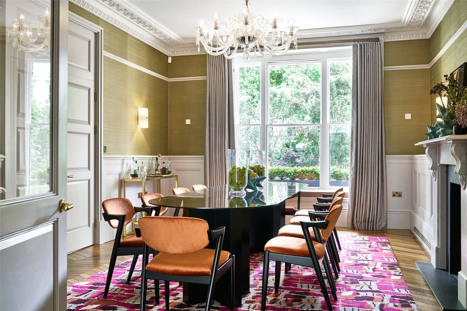 Leinster Square,Dining room