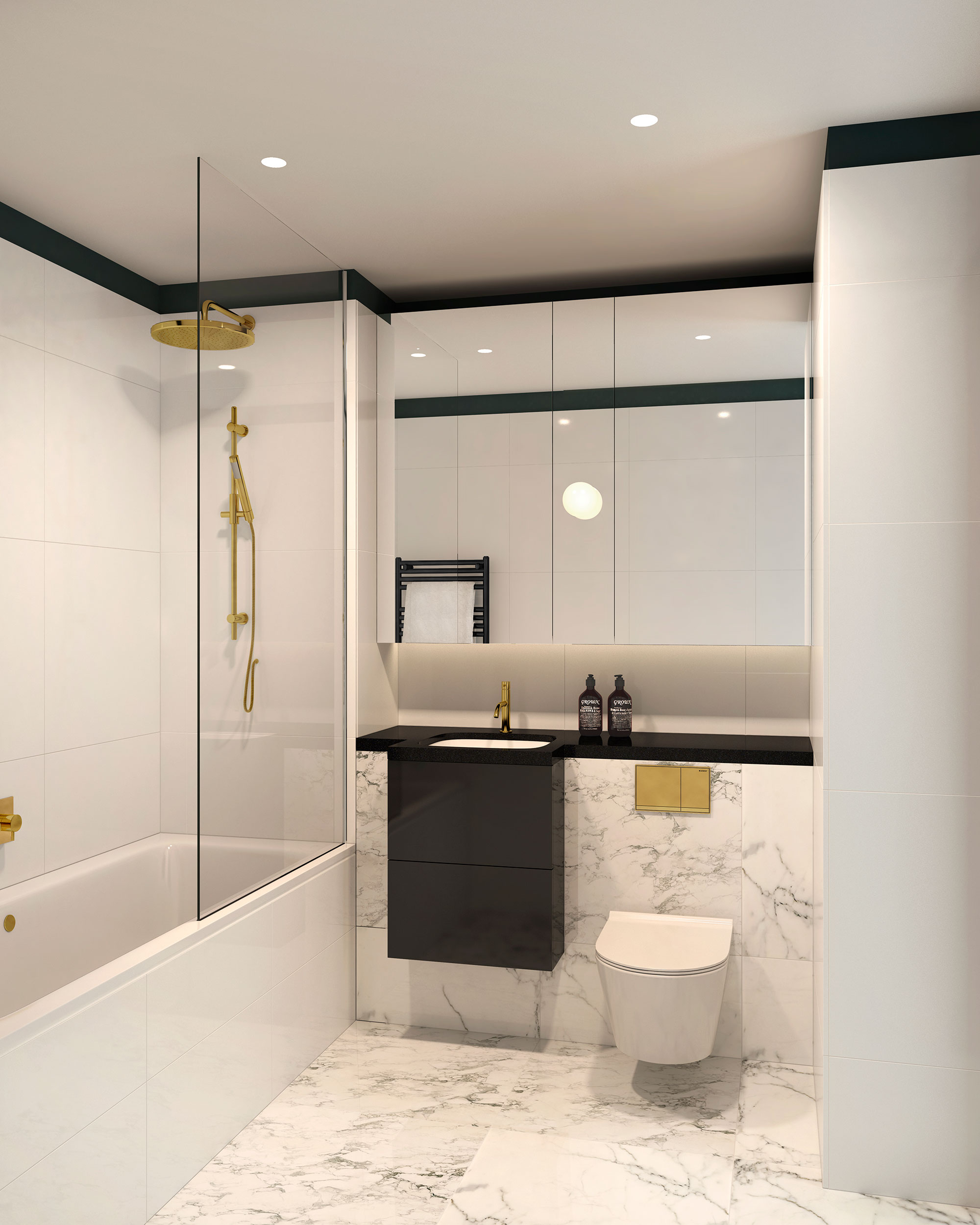 The Waterman,Bathroom