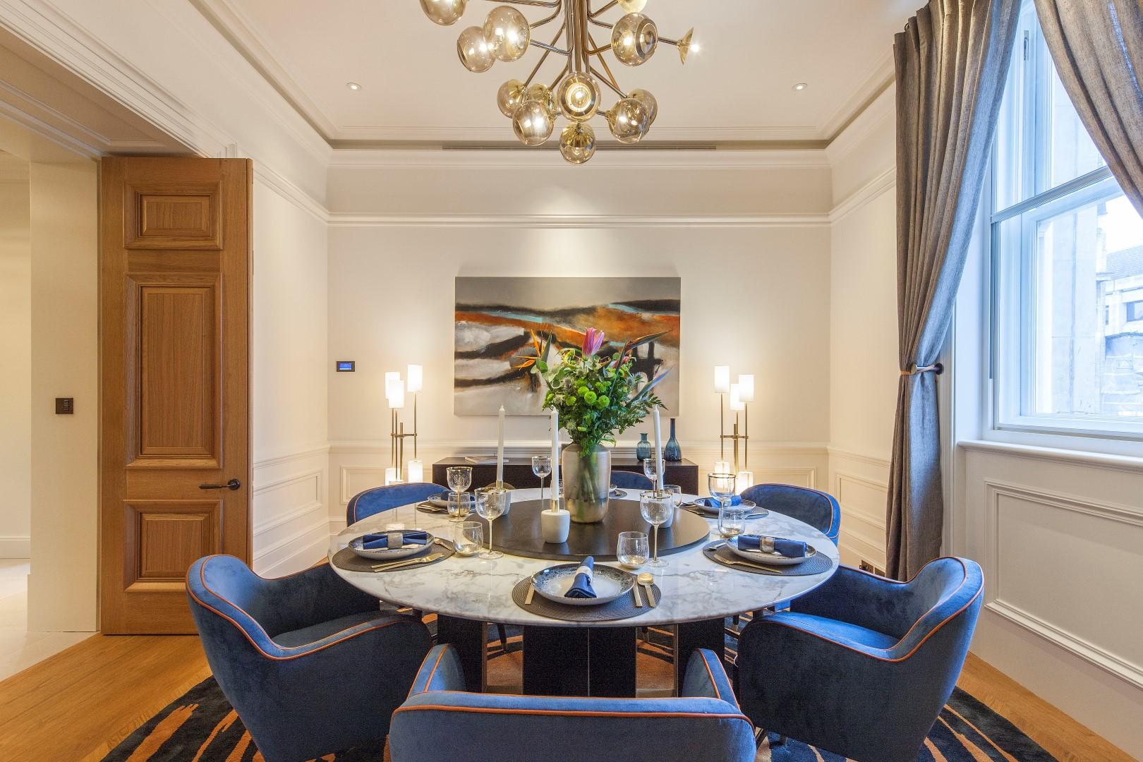 Morpheus London,Dining room