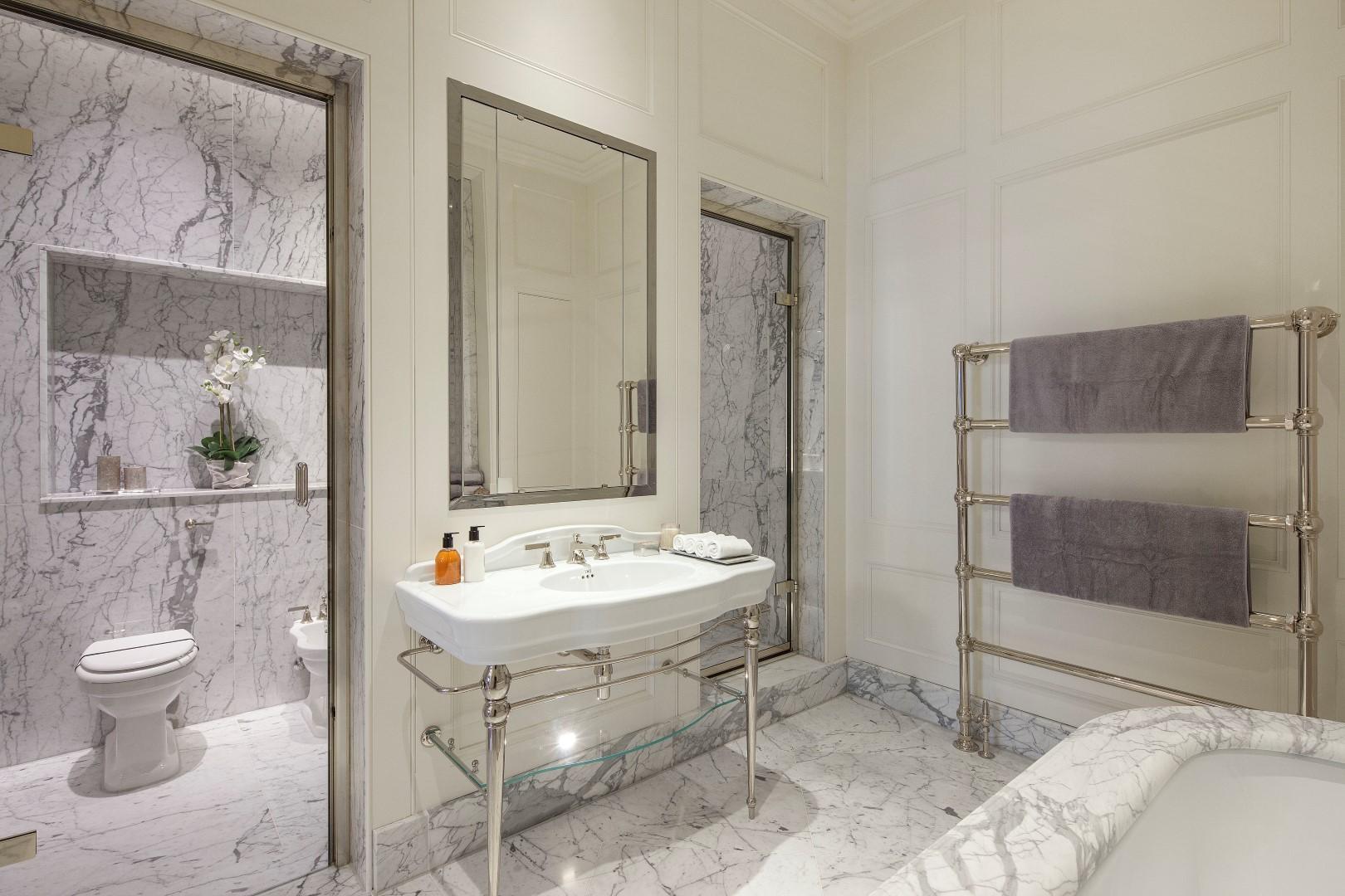 Morpheus London,Bathroom detail