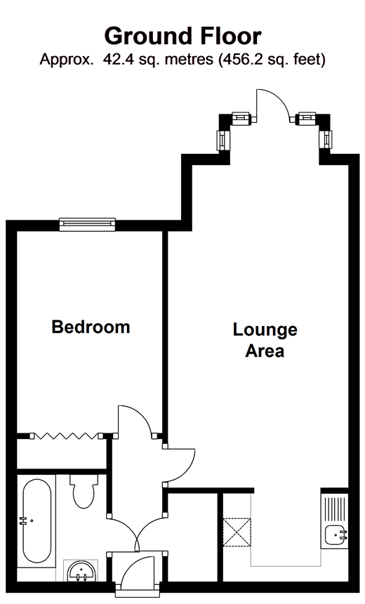 Charles street petersfield hampshire gu32 1 bedroom for 110 charles street east floor plan