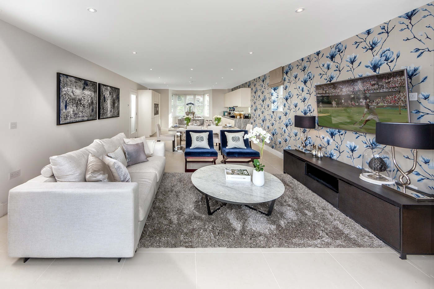 Chigwell Village,Family room
