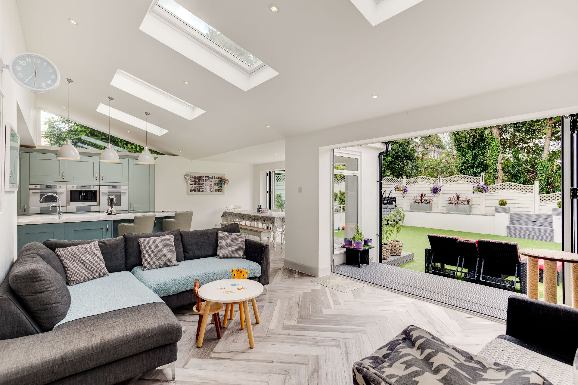 Velux,Family room