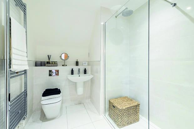 Linden Homes,Bathroom