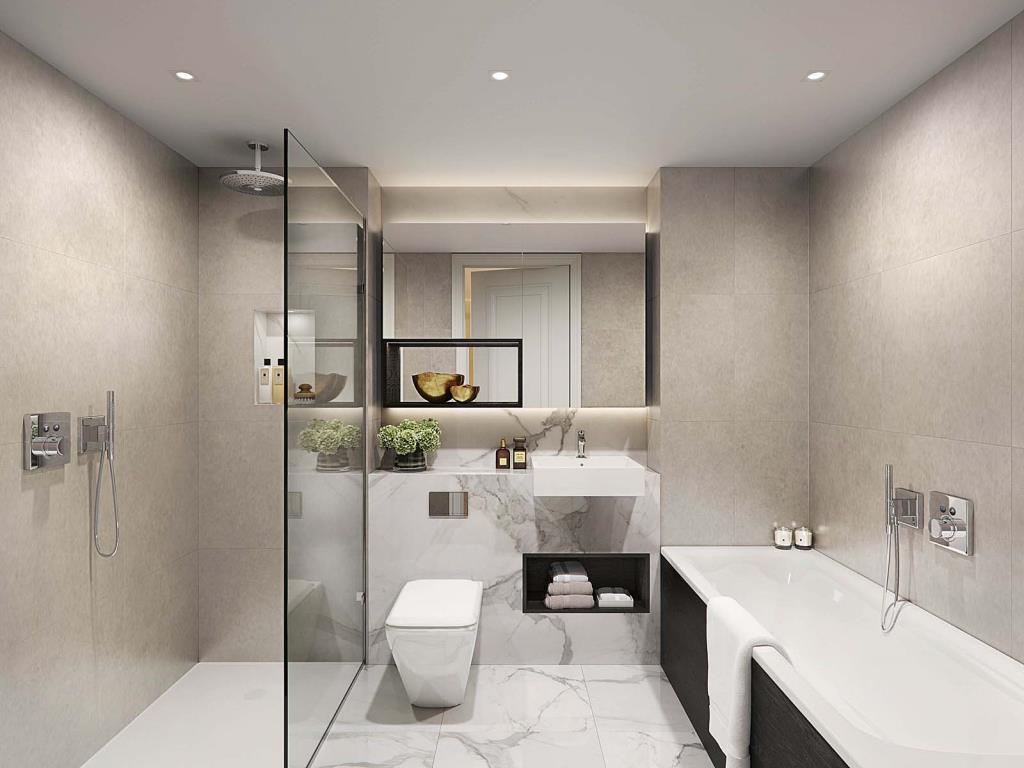 Hampstead Manor development,Bathroom