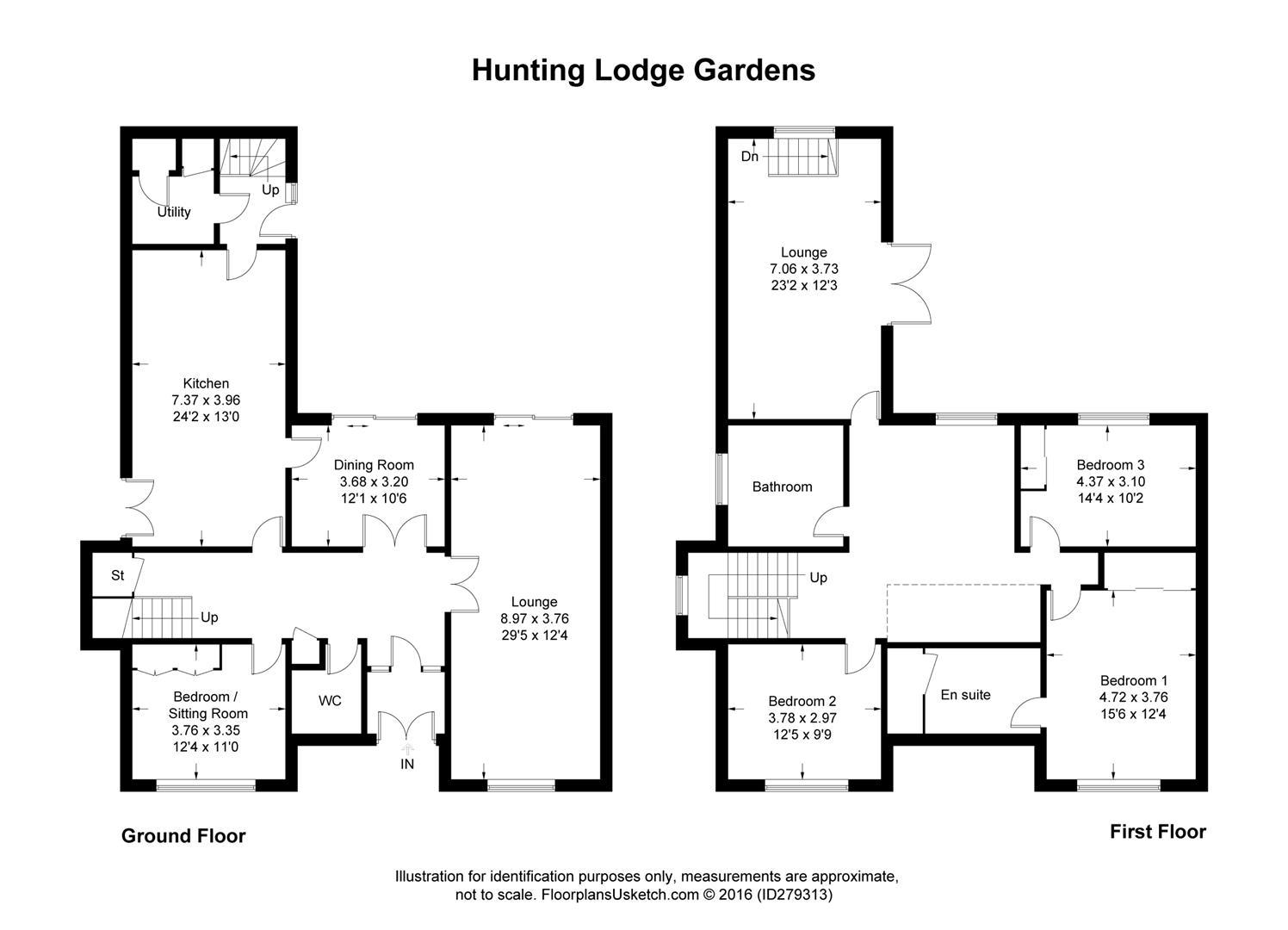 Hunting Lodge Gardens Hamilton Ml3 4 Bedroom Property For Sale 41557388 Primelocation