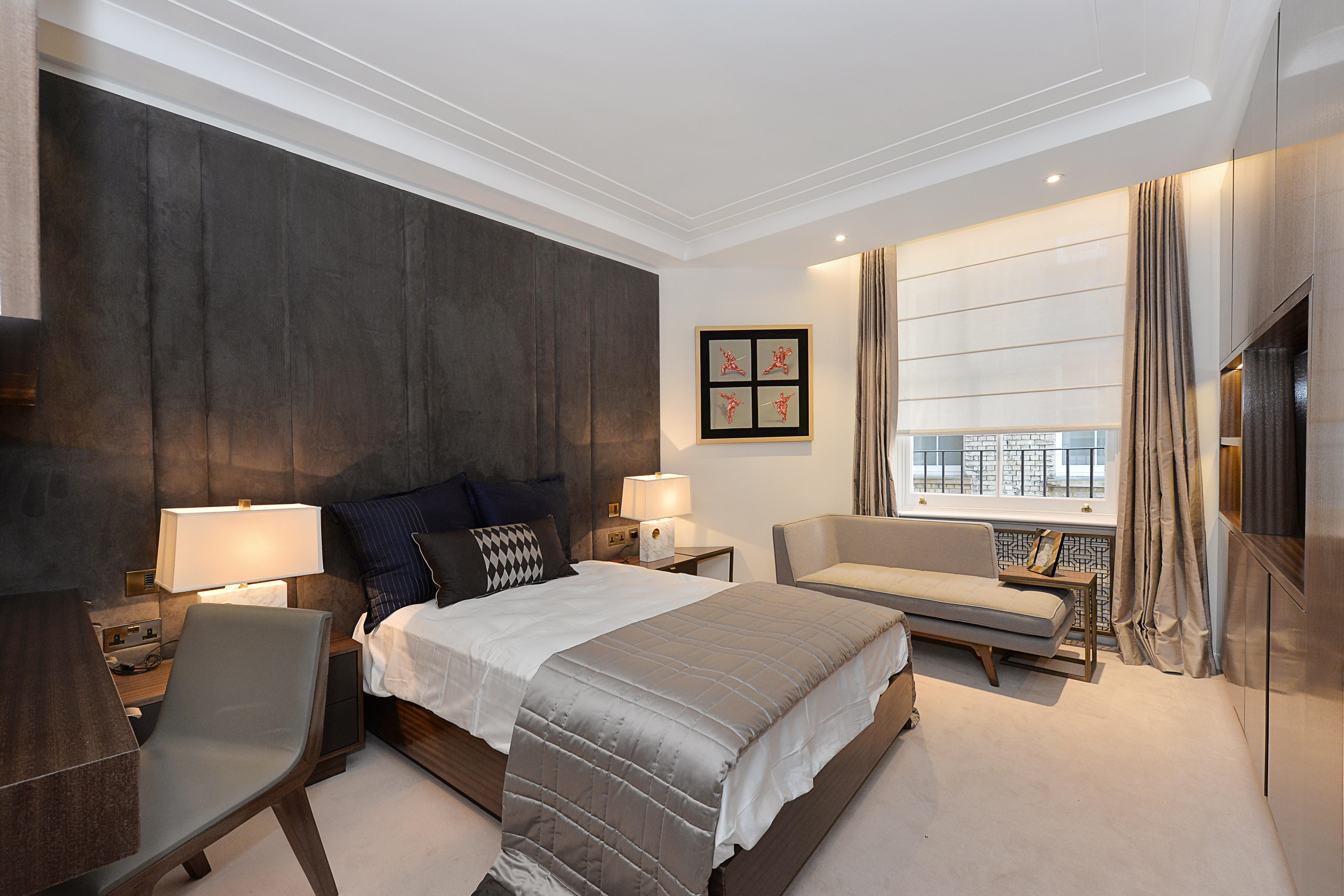 Montagu Mansions,Master Bedroom