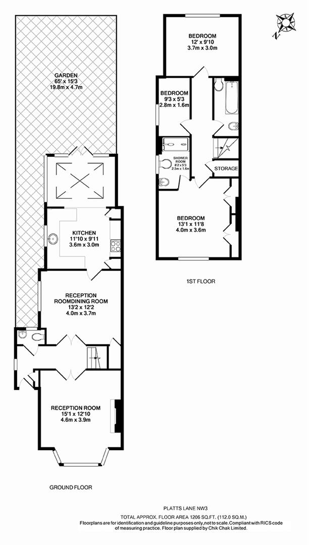 Platts lane london nw3 3 bedroom semi detached house for for 16 brookers lane floor plans