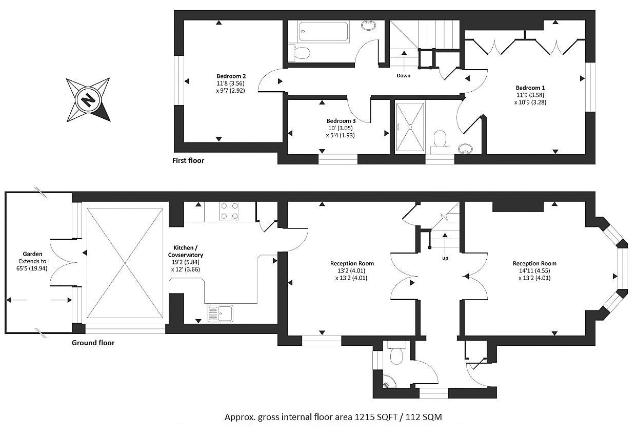 Platts Lane Hampstead London Nw3 3 Bedroom Semi