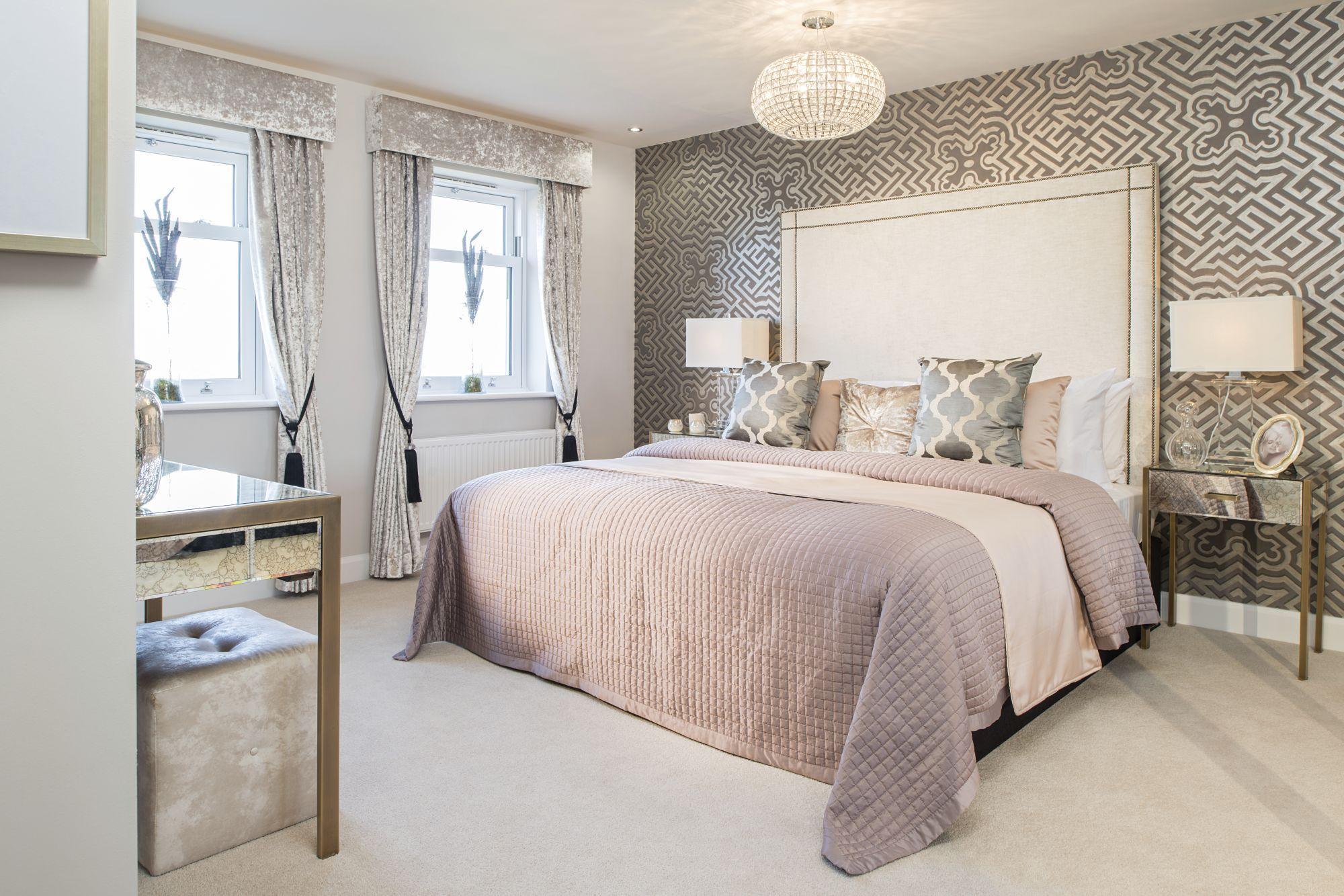 David Wilson Homes,Master Bedroom