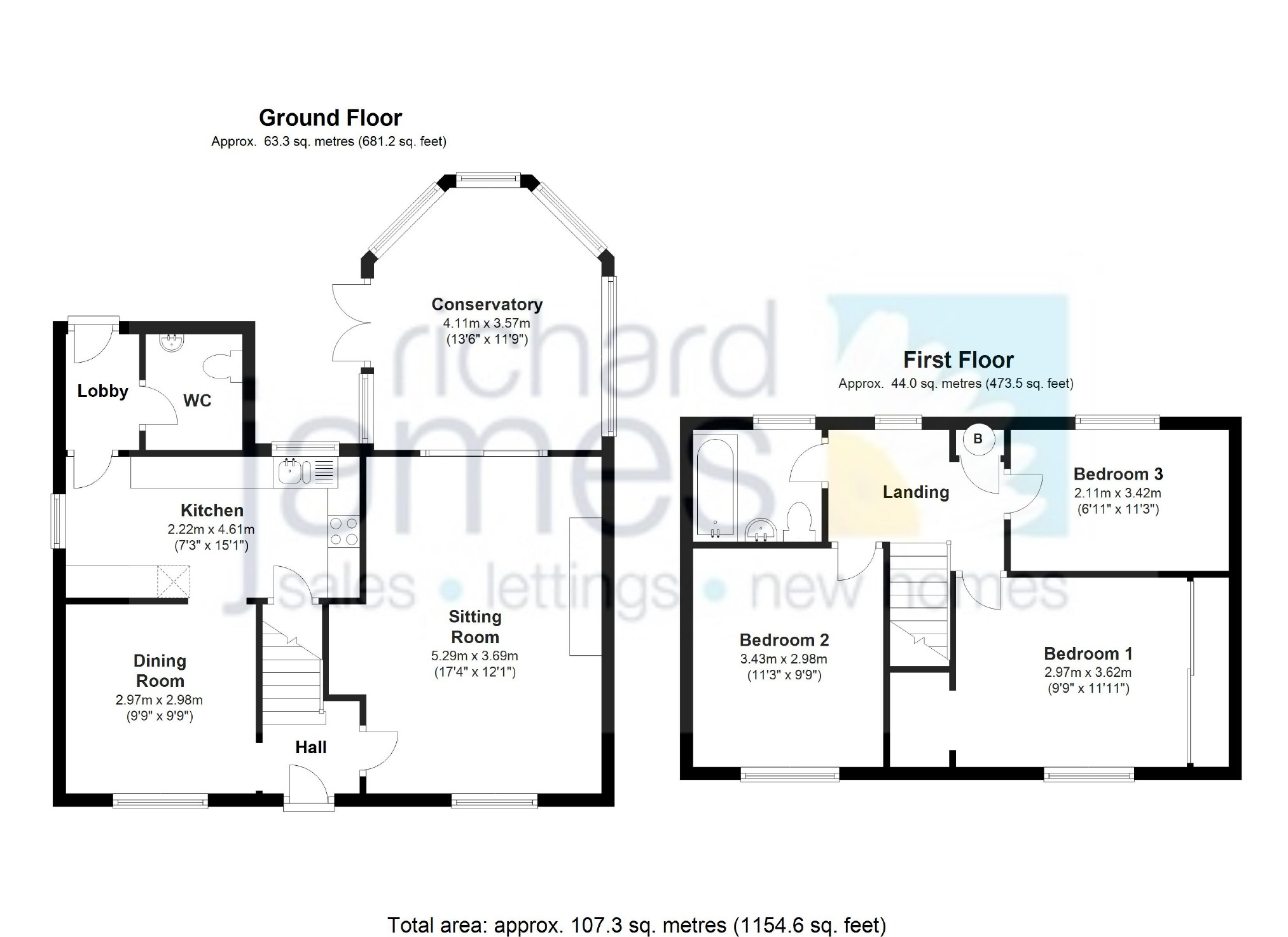 House Plans Semi Detached Flats House Plans