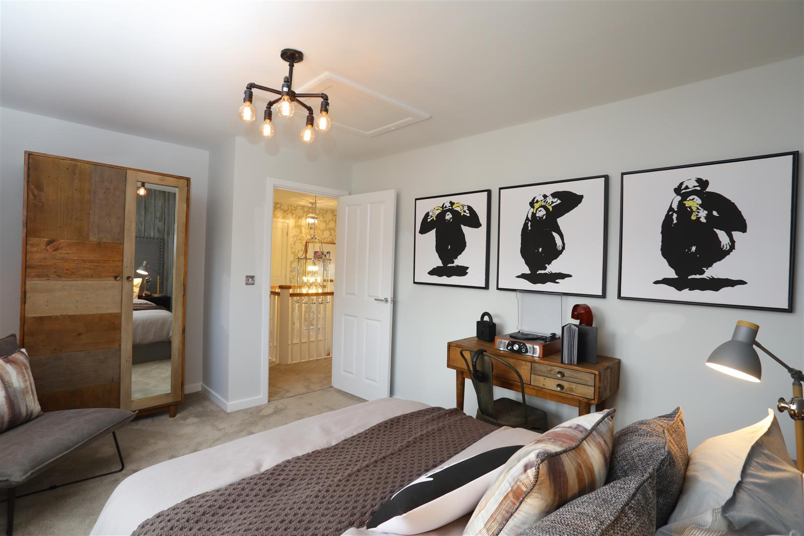 Kier Developments,Master Bedroom