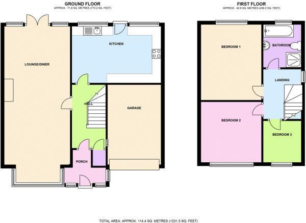 Walton Close Rowley Regis B65 3 Bedroom Detached House