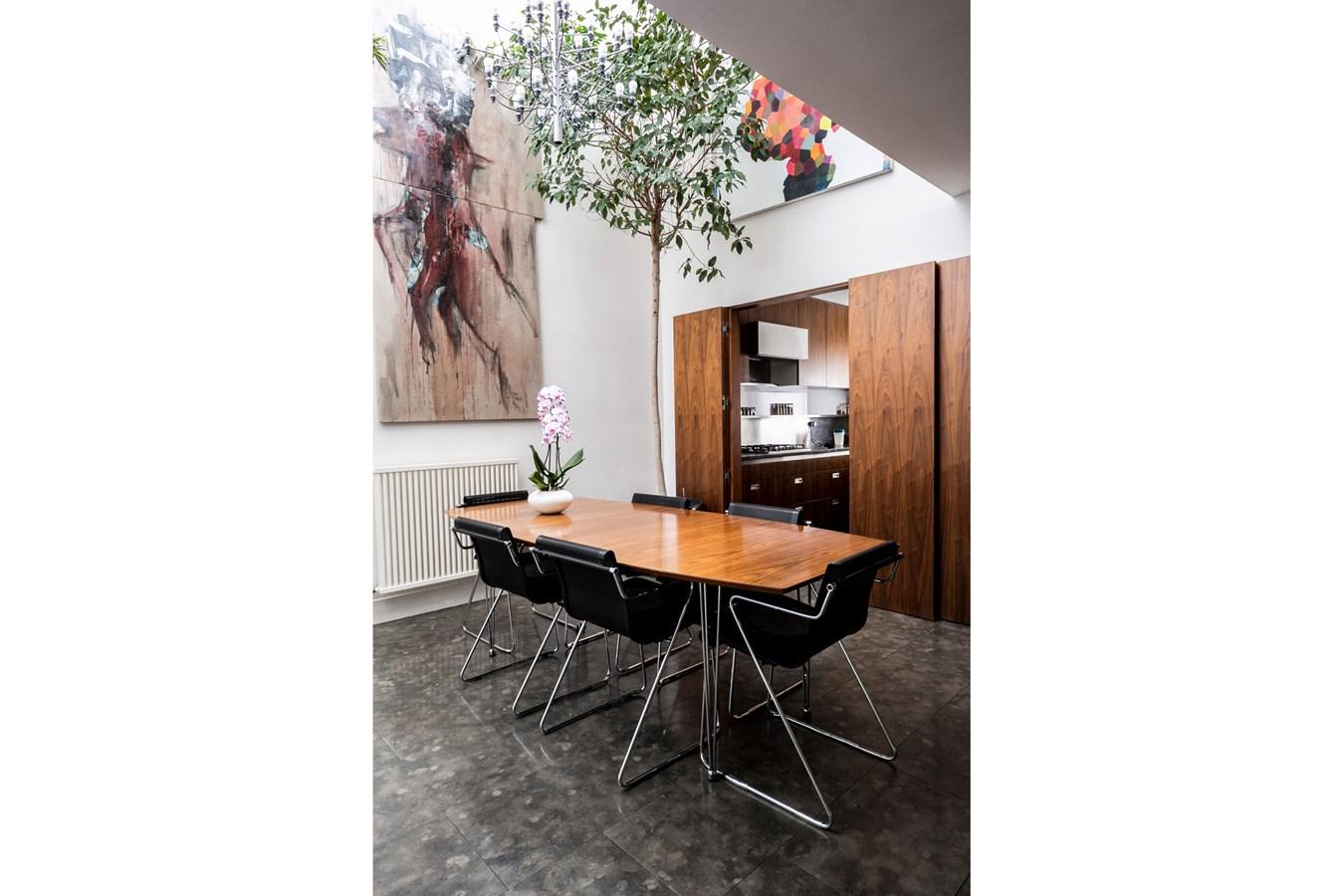 Project Orange,Dining room