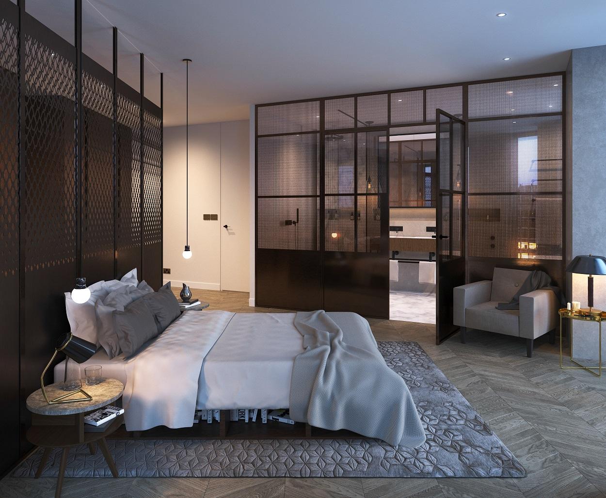 Michaelis Boyd,Master Bedroom