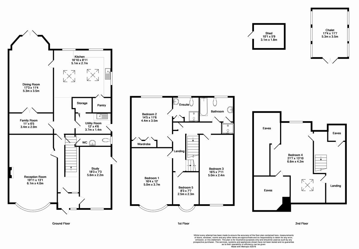 Park Avenue Bromley BR1 5 Bedroom Detached House For