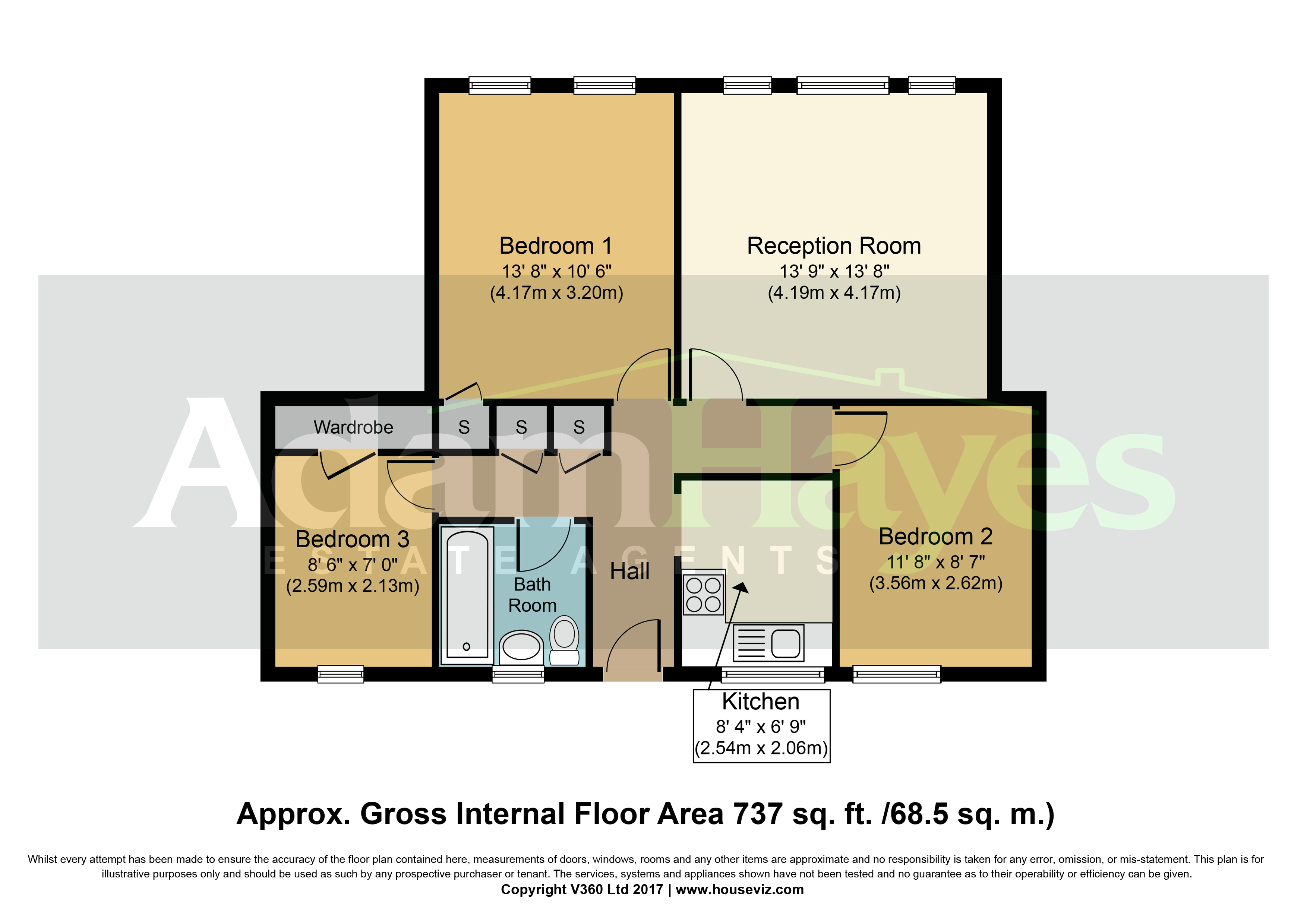 Grove House Waverley Grove Finchley Central N3 3 Bedroom Flat For Sale 45857791 Primelocation