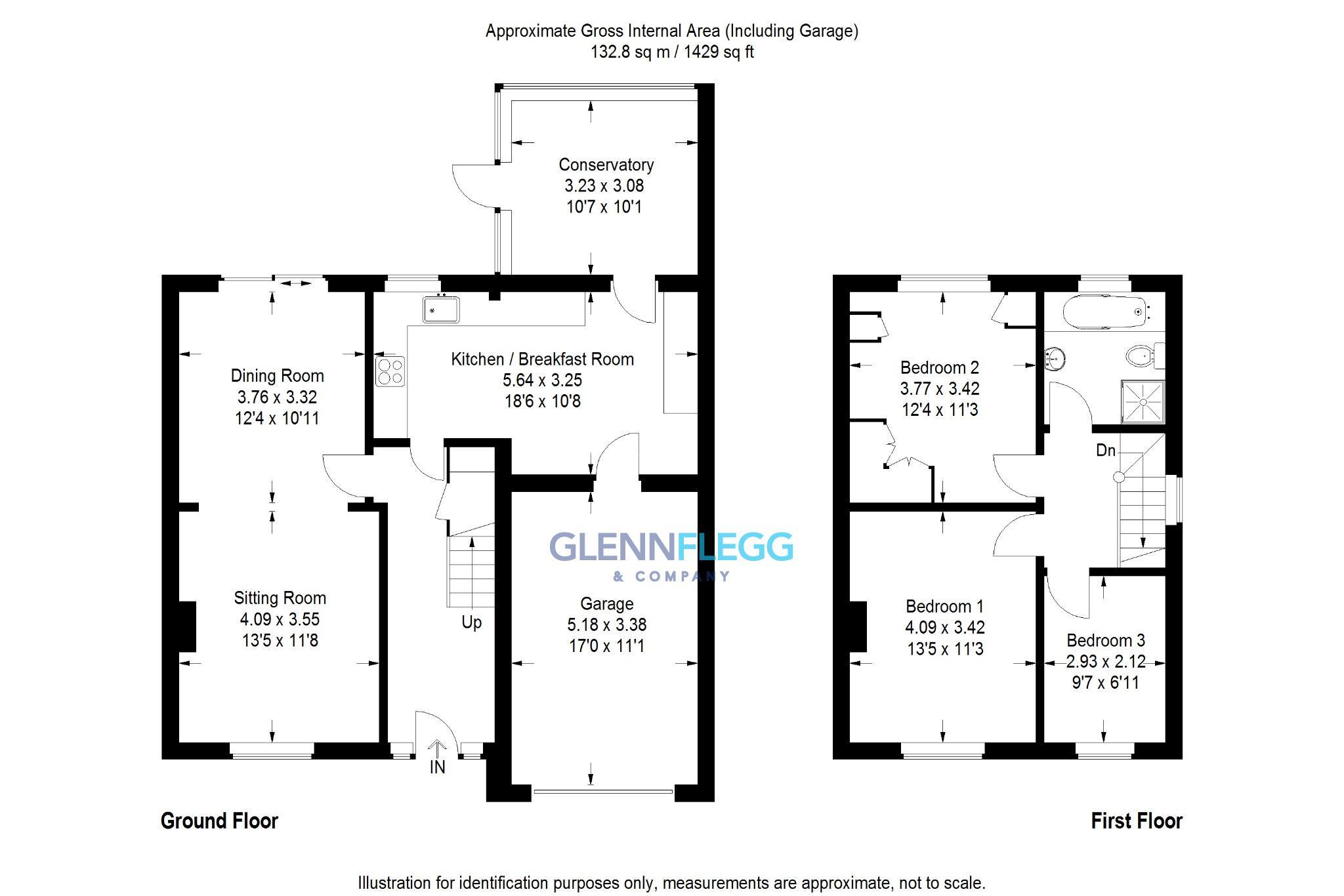 Amanda court langley slough sl3 3 bedroom semi detached for Ron lee homes floor plans