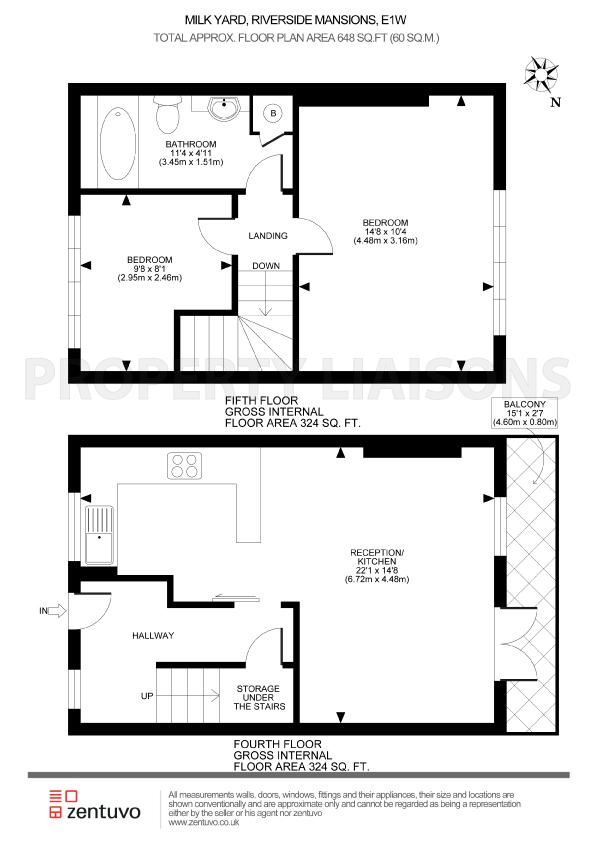 Riverside Mansions London E1w 2 Bedroom Duplex For Sale