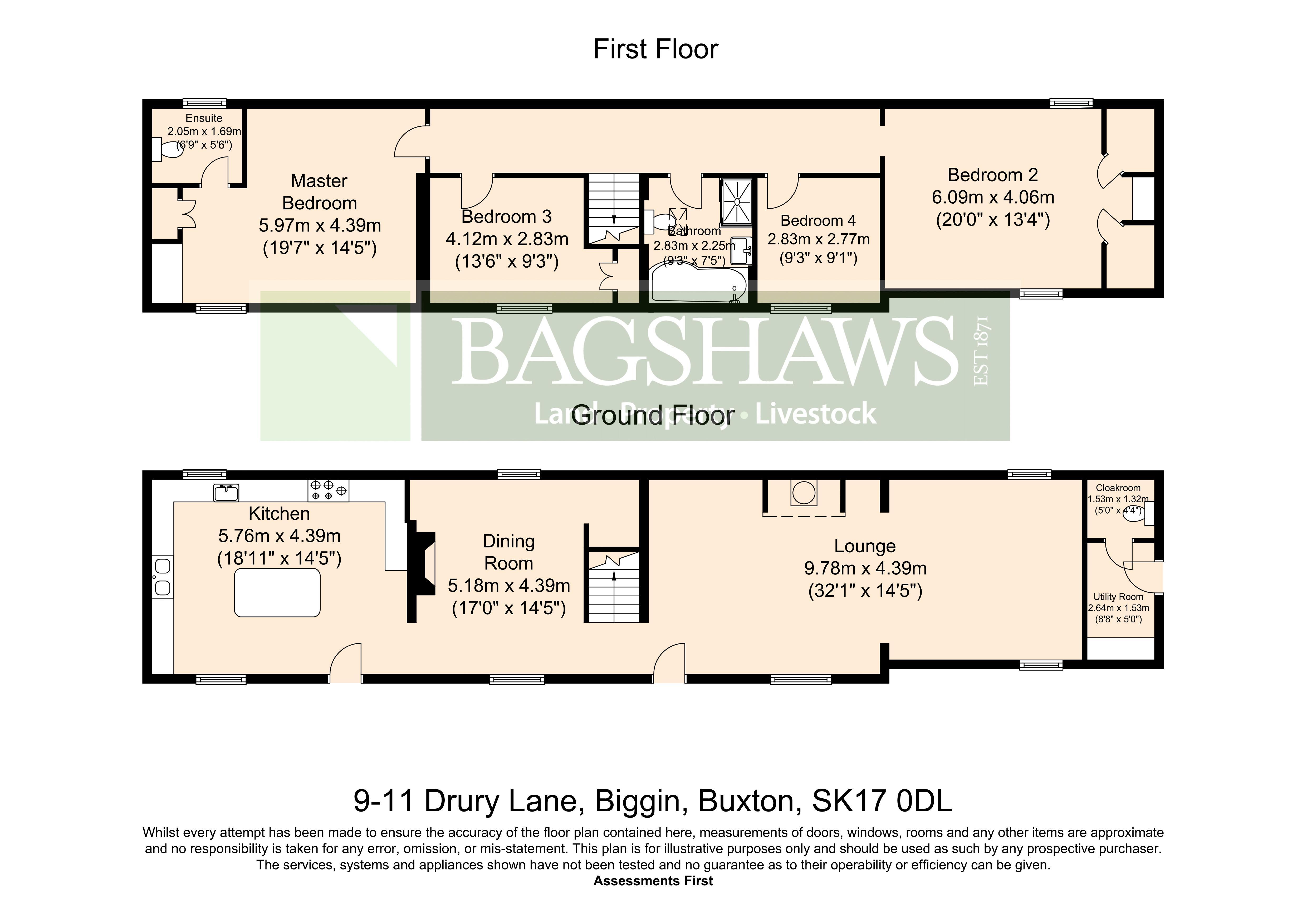 4 Bedrooms Detached house for sale in Drury Lane, Biggin, Buxton SK17