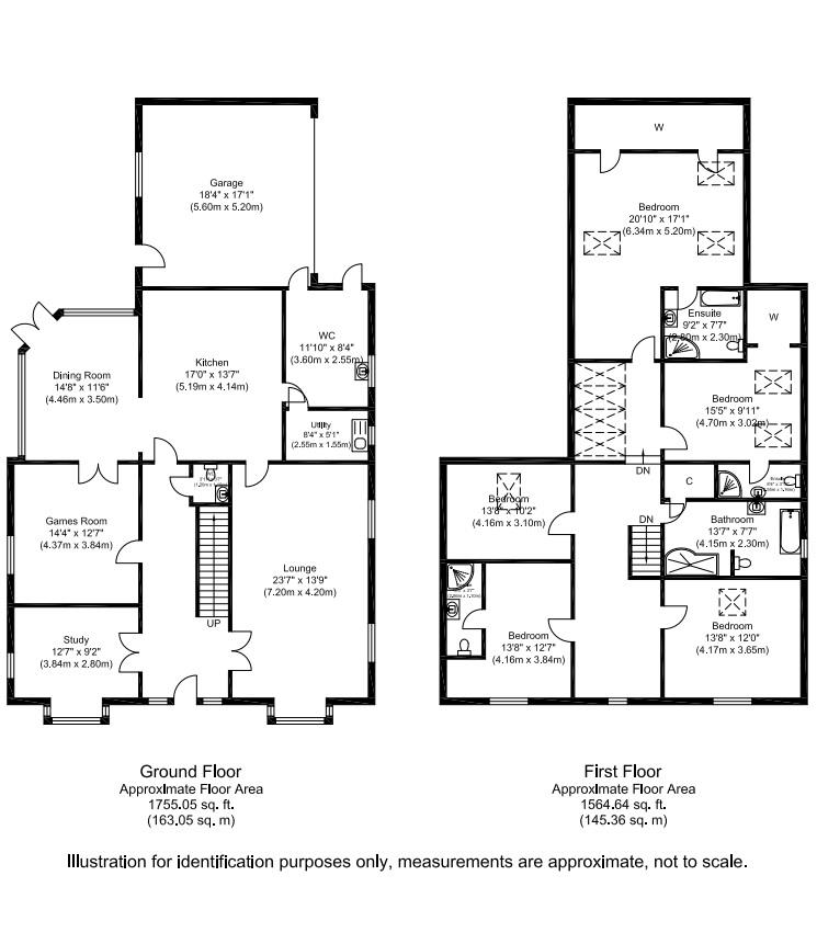 Darras Road, Ponteland, Newcastle Upon Tyne NE20, 5 Bedroom Detached House For Sale