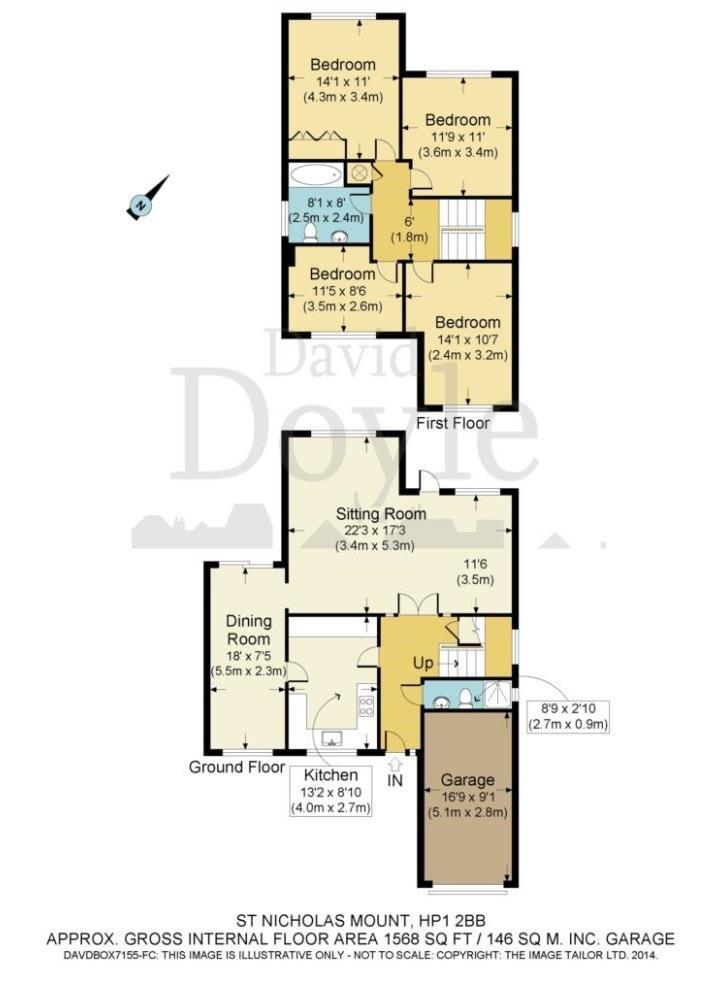 St  Nicholas Mount, Hemel Hempstead HP1, 4 bedroom detached