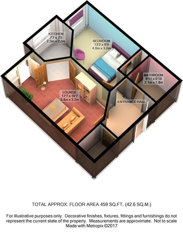 1 Bedroom Flat For Sale 44708781 Primelocation