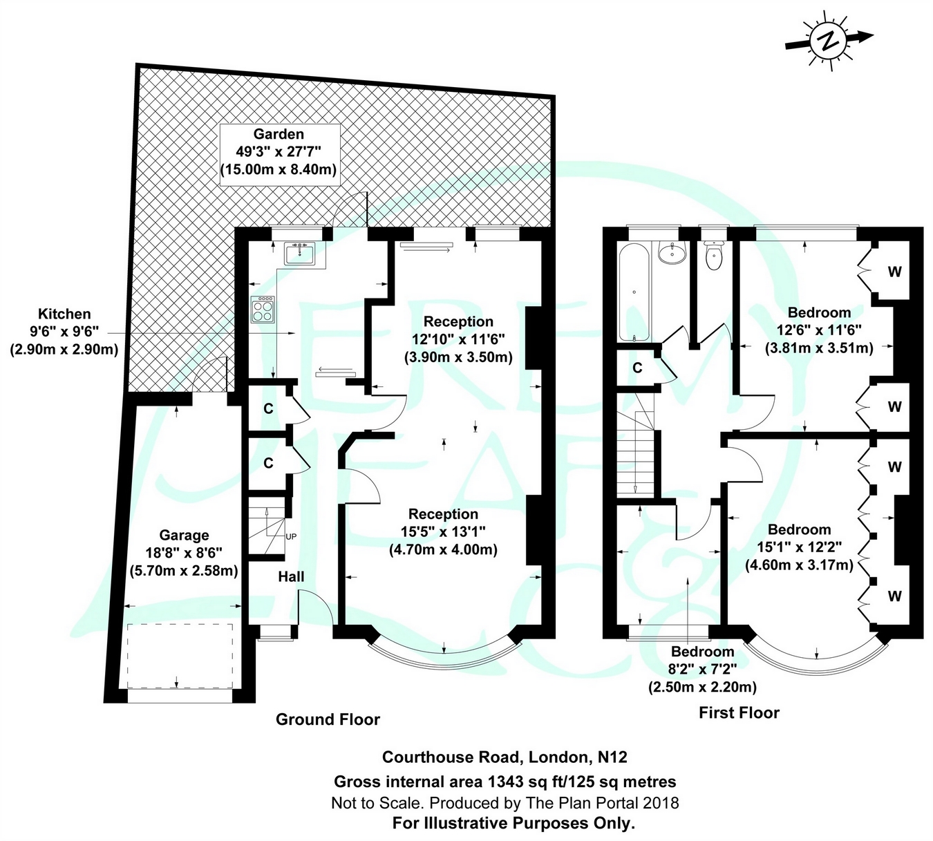 3 Bedrooms Semi-detached bungalow for sale in Courthouse Road, West Finchley N12