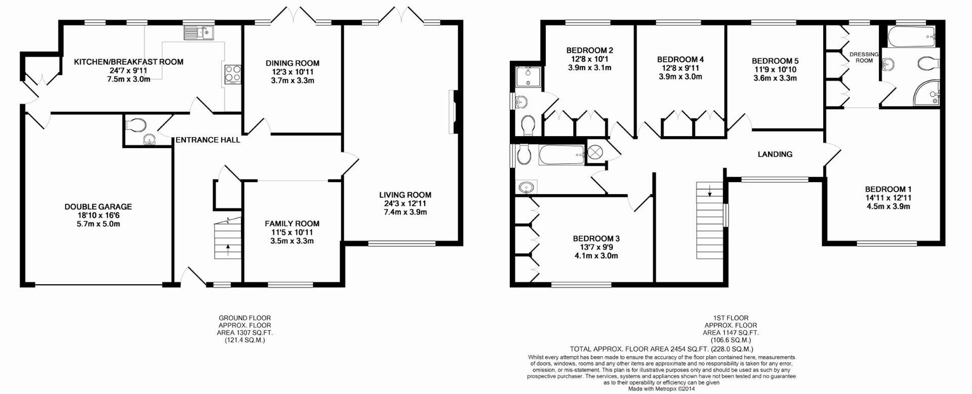 Cheapside lane denham ub9 5 bedroom detached house for for 16 brookers lane floor plans