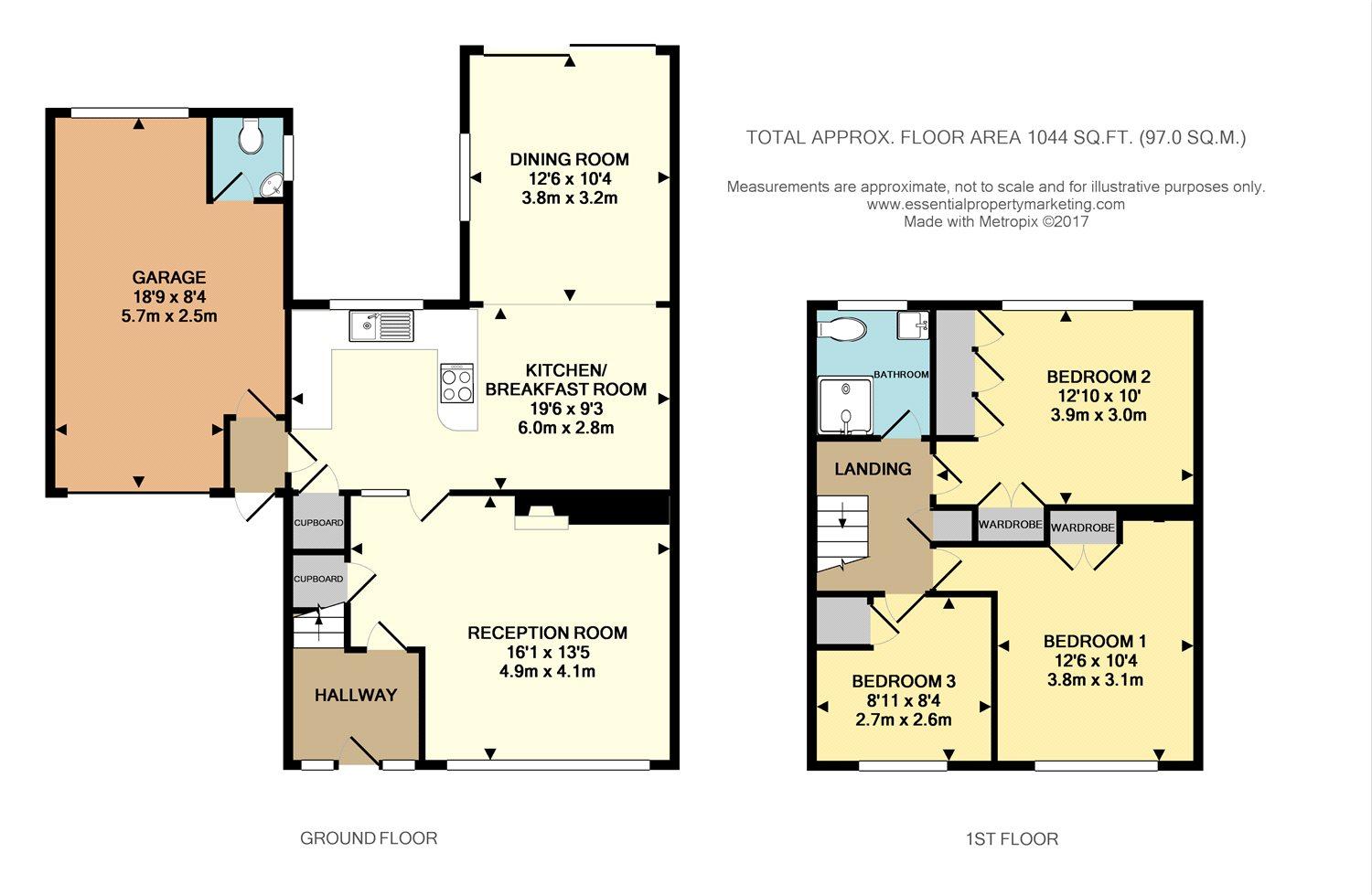 Property For Sale Central Way Oxted