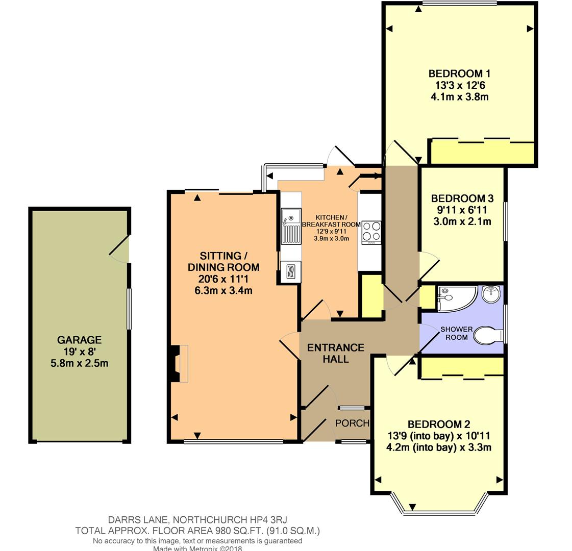3 Bedroom Bungalow For Sale 46654348 Primelocation