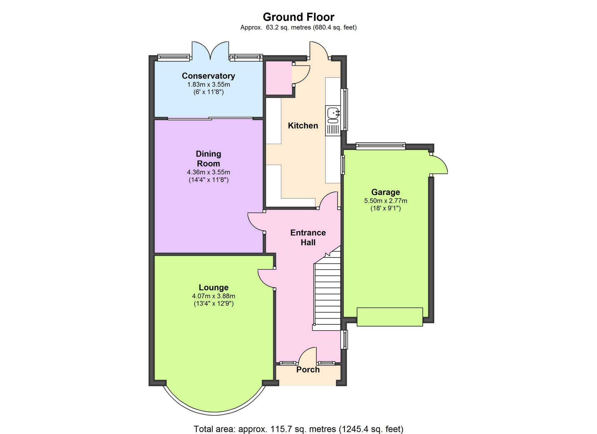 Goddington lane orpington br6 3 bedroom semi detached for 16 brookers lane floor plans