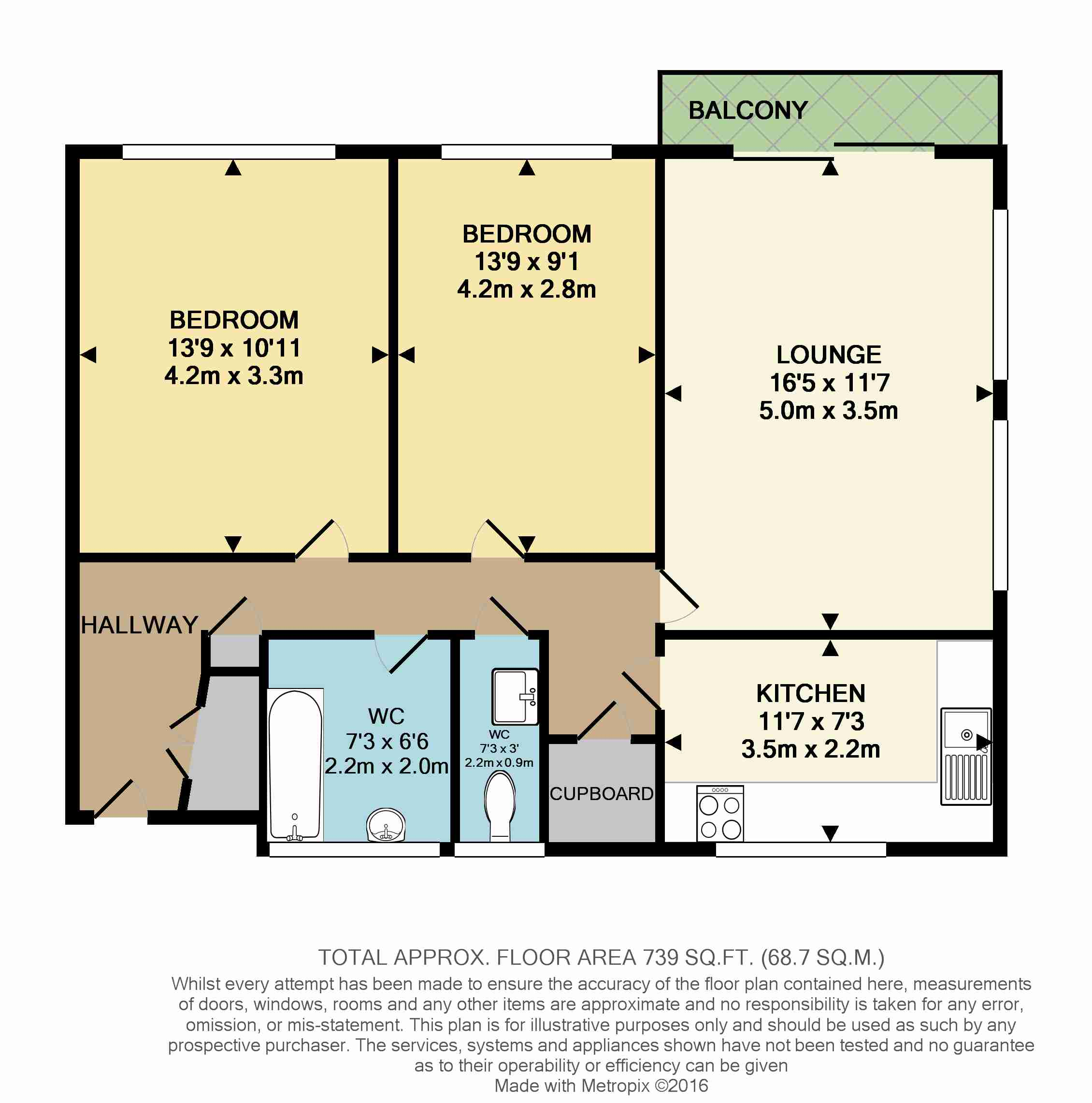 2 Bedroom Flat For Sale In Gordon Road W5 London