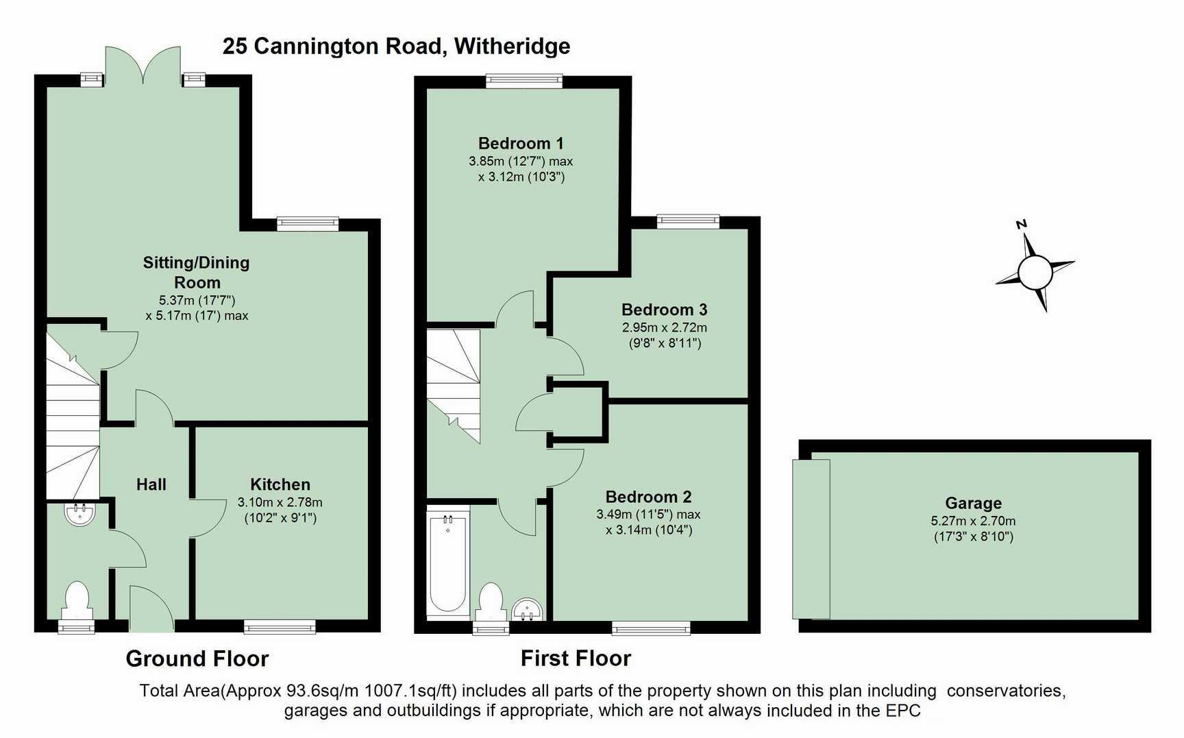 Cannington road witheridge tiverton ex16 3 bedroom semi for Food bar cannington