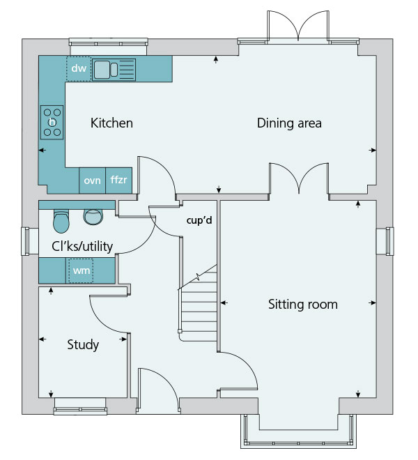 The canterbury at main street tingewick buckingham Canterbury floor plan