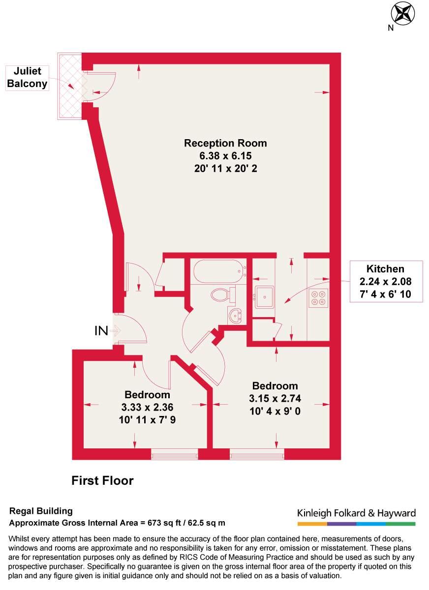 2 Bedrooms Flat for sale in Kilburn Lane, London W10